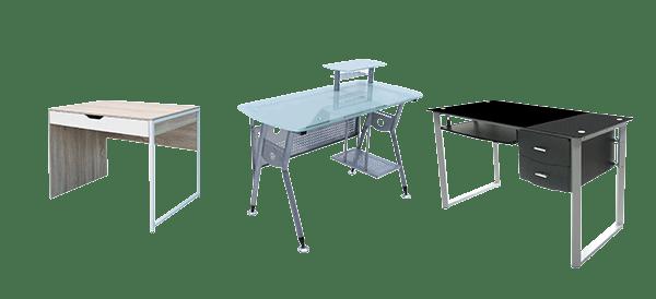 Meja kantor bahan besi
