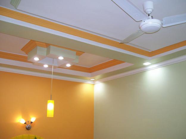 list gypsum untuk interior hotel minimalis